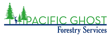Pacific Ghost Forestry Logo no backgroun