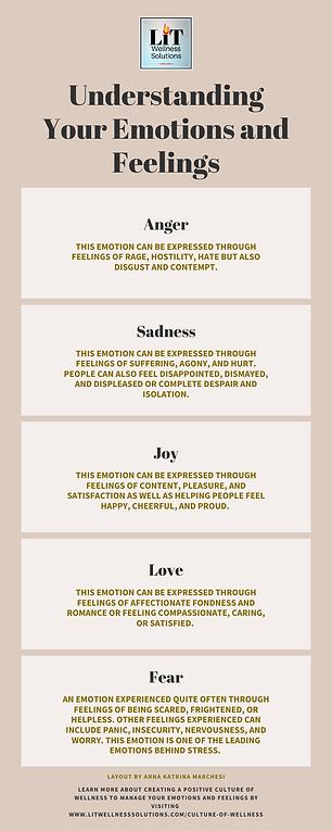 Understanding Emotions and Feelings