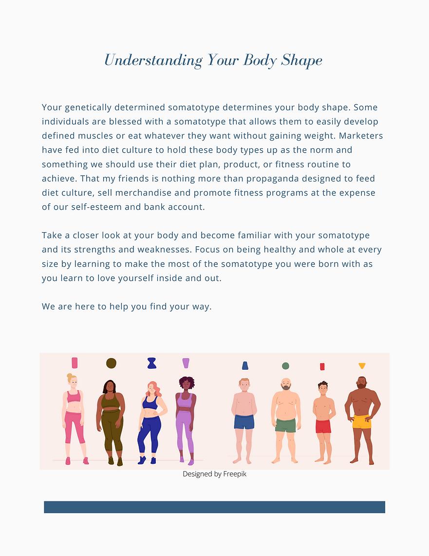 Understanding Body Shape