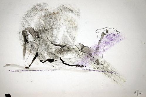 Susanna. Nude art №21114 - original sketch art