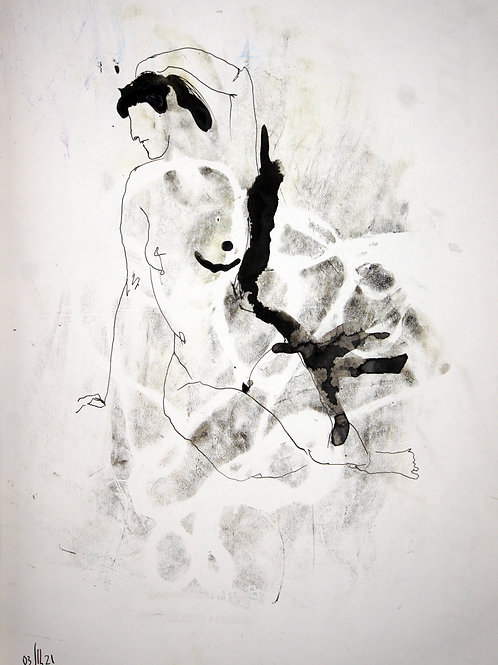 Susanna. Nude art #21108 - original artwork
