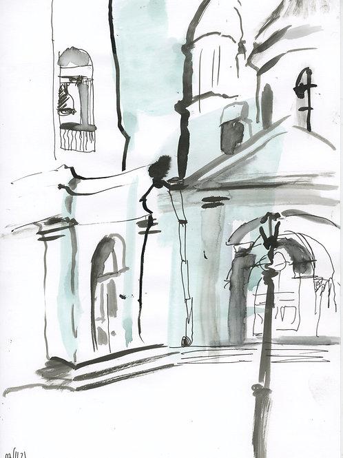 6-7 linia Saint-Petersburg - original urban sketch