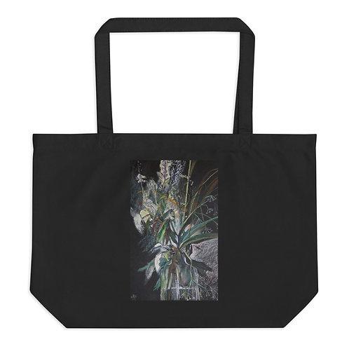Field herbs. Yang yin - Large organic tote bag copy