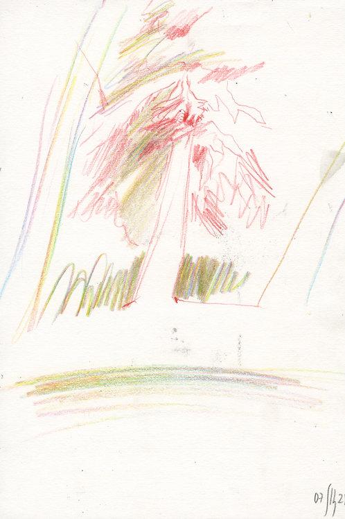 Vasiliy park - 1 minute original urban sketch #4