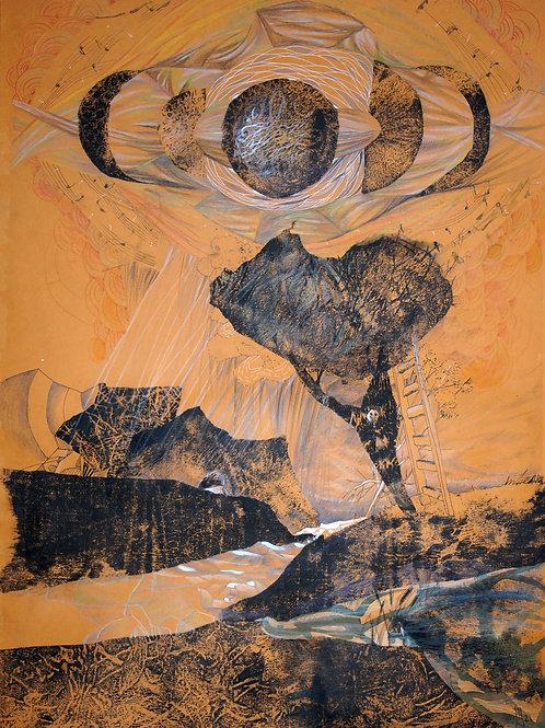 Moonlight Sonata - original landscape artwork