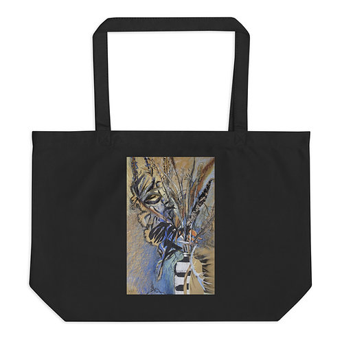 Field herbs. Dry up - Large organic tote bag copy copy