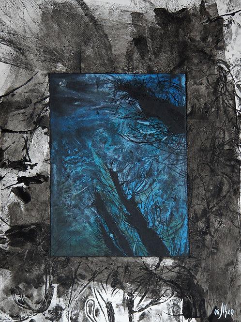 Urban trees series - 2 - original genre artwork