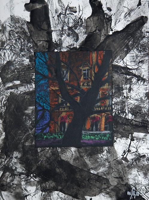 Urban trees series - 1 - original genre artwork
