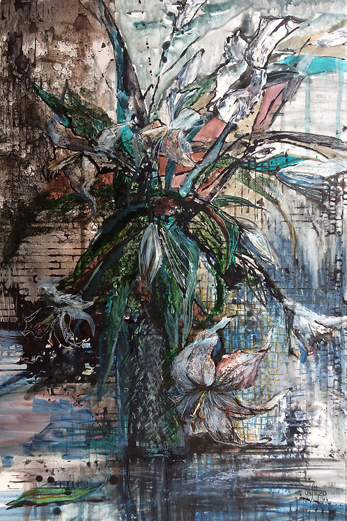 These are our flowers! (lilies) - original genre artwork