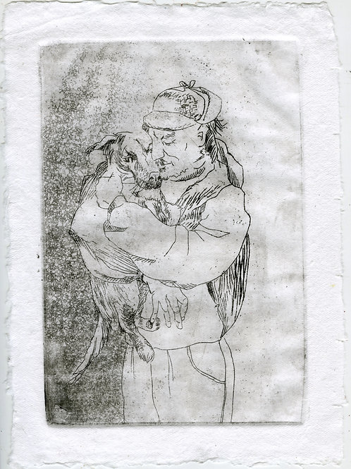 Close to each other #5 - 1 (etching)