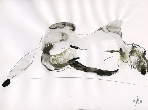 Susanna. Nude art #21105- original artwork