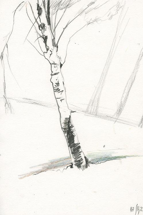 Vasiliy park - 1 minute original urban sketch #3
