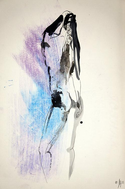 Susanna. Nude art #21110 - original artwork