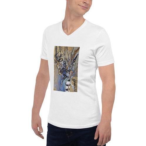 Field herbs. Dry up - Unisex Short Sleeve V-Neck T-Shirt copy copy