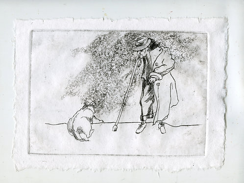 Close to each other #2 - 1 (etching)