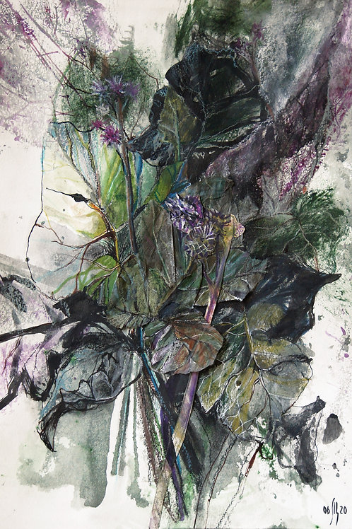 Burdock. TRYN-GRASS - original artwork