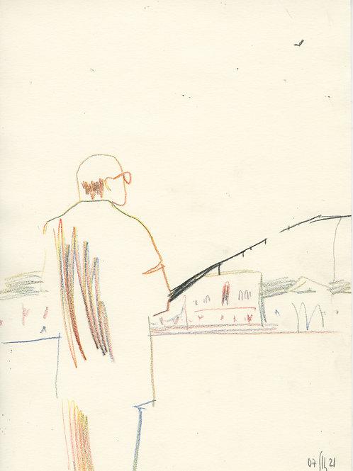Schmidt Embankment - 1 minute sketch 21251