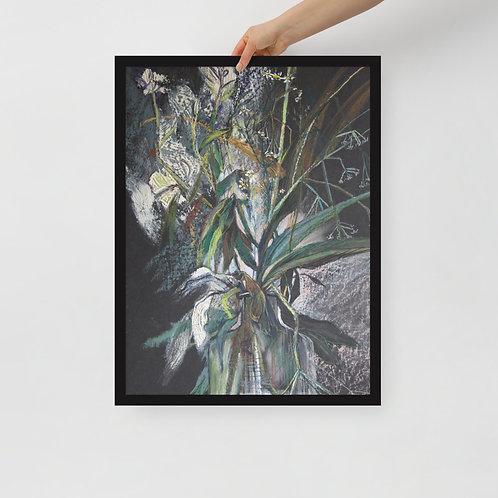 Field herbs. Yang yin - Framed poster copy