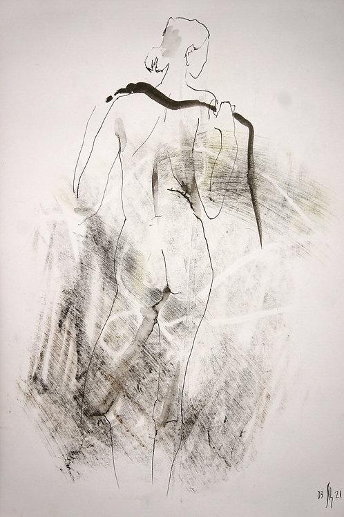 Susanna. Nude art #21106 - original artwork