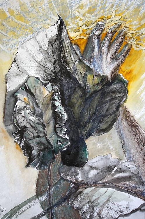 Tenderness of water - original genre artwork