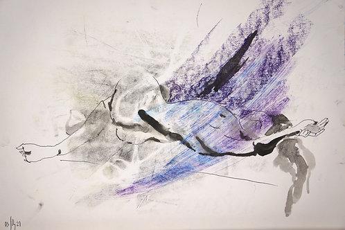 Susanna. Nude art #21115 - original sketch art
