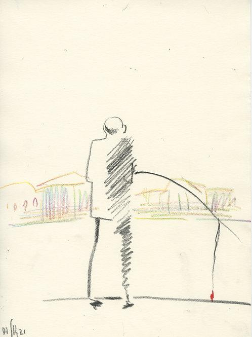 Schmidt Embankment - 1 minute sketch 21252