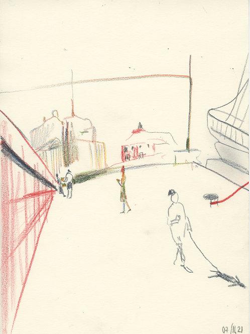 Schmidt Embankment - 3 minute sketch 21250