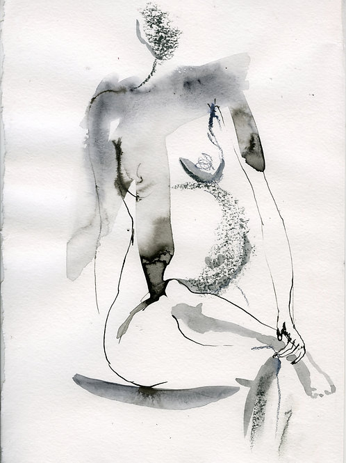 Vika. Nude art №2190 - original artwork