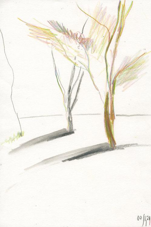 Vasiliy park - 3 minute original urban sketch #1