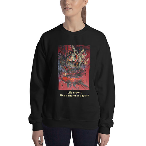 LIFE CRAWLS - Unisex Sweatshirt
