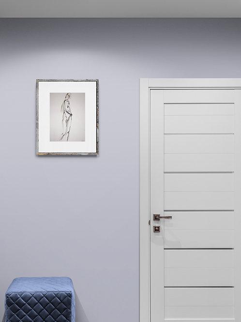 Sasha. Nude art №21215 - original figurative sketch