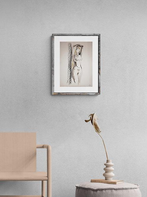 Sasha. Nude art №21208 - original figurative sketch