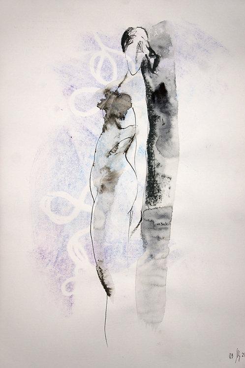 Susanna. Nude art #21107 - original artwork