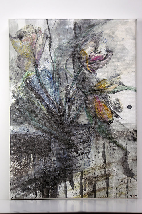 ART PRINT: These are our flowers - tulips