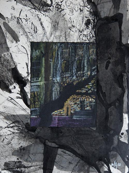 Urban trees series - 3 - original genre artwork