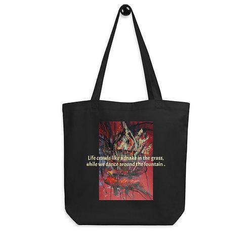 LIFE CRAWLS - Eco Tote Bag