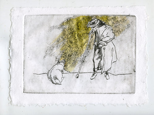 Close to each other #2 - 2 (etching)