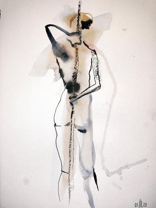 Vika. Nude art №2195 - original nude art