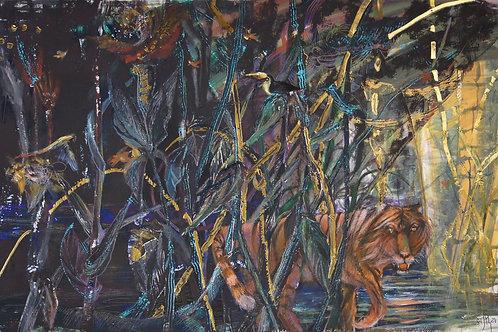 Deep in the Jungle - original artwork