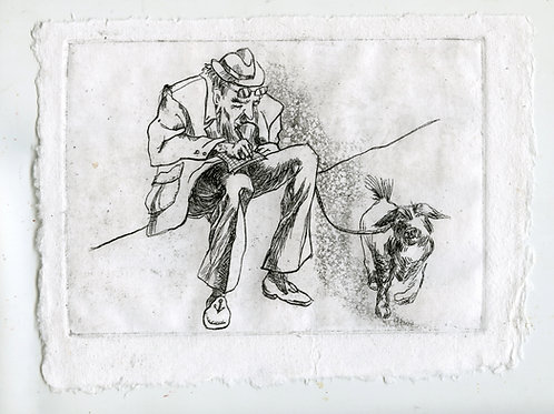 Close to each other #1 - 1 (etching)