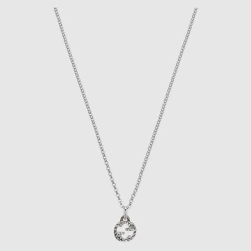 GUCI Interlocking G pendant necklace - (Donation)