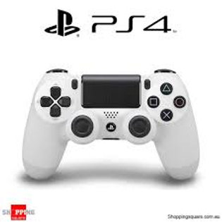 New PlayStation 4 DualShock 4 Wireless Controller - White - (Donation)