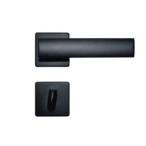 Fechadura Imab Metro Light Chave Banheiro Preto 55mm