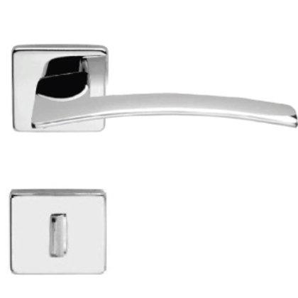 Fechadura Logus Chave Banheiro Cromada 55mm