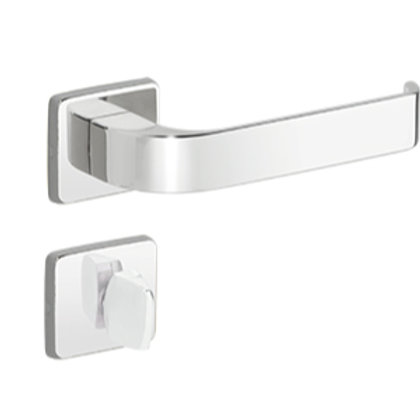 Fechadura Imab Odin Chave Banheiro Cromado 40mm