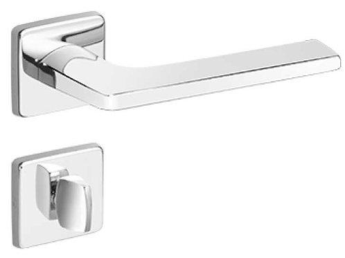 Fechadura Imab Polara Chave Banheiro Cromada 55mm