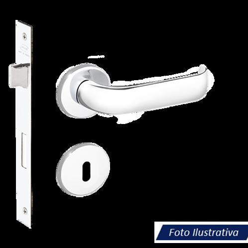 Fechadura Imab Duna II Chaves Interna Cromada 40mm