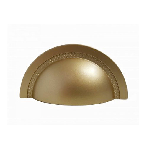 Puxador Zen Shell 48mm Dourado