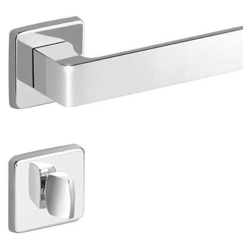 Fechadura Imab Tess Chave Banheiro Cromada 55mm
