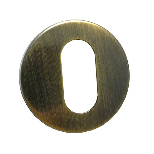 Roseta Externa Ouro velho Redonda R0066